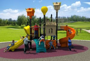 New Design Children Playground Outdoor Slide Equipment pictures & photos