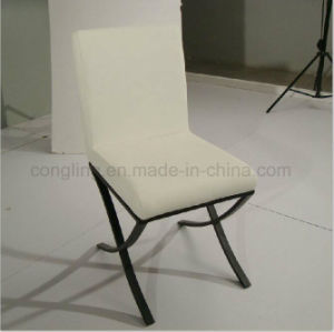 Antique New Designs White Leather Dining Room Chair B8044 pictures & photos