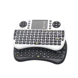 New Product 2.4G Mini Wireless Keyboard with Remote Controls pictures & photos