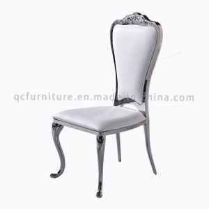 Stainless Steel White Crown Dining Chair for Wedding Wholesale pictures & photos