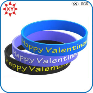 Custom Lover Silicone Wristband for Gifts pictures & photos