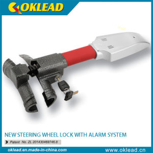 Vibration Sensor Car Steering Wheel Lock with Siren Alarm