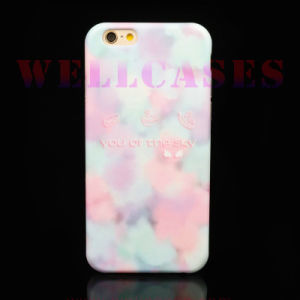 Customized Cloud Colored TPU Mobile Phone Case for iPhone 6/6plus