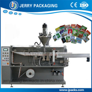 Automatic Food Cosmetic Powder Pouch Package Packaging Packing Machinery pictures & photos