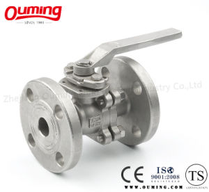 2 PC Flanged Manual Ball Valve pictures & photos