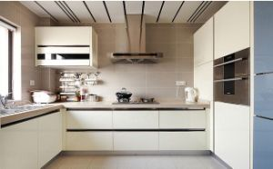Kitchen Size for Customized Wooden PVC Kitchen Cabinet Furniture pictures & photos