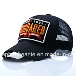 Fashion Breathable Baseball Sport Mesh Hat with 3D Embroidery Pattern pictures & photos