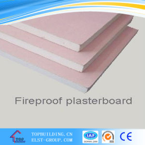 Fire Resistant Gypsum Board/1220*2440*12mm/Fireproof Board for Partition System pictures & photos
