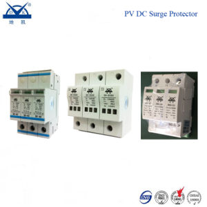 Solar Photovoltaic System DC 1200V 3p PV Thunder Protector pictures & photos