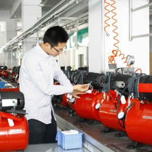 Electric Plastic Housing Casting Iron Pump with Ce pictures & photos