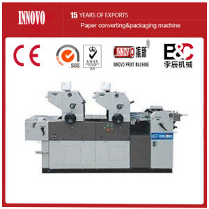 Double Color Offset Printing Machine pictures & photos