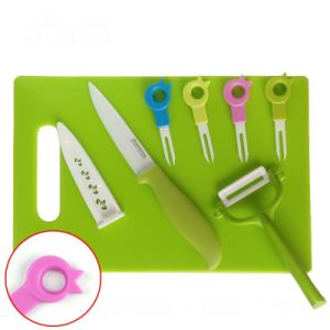 Ceramic Tableware for Knife+Peeler+Forks+Chopping for Tableware pictures & photos