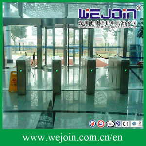 304 Stainless Steel Retractable Turnstile Flap Barrier pictures & photos