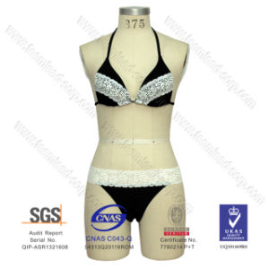 Hot Sell Lycra Lace Bikini pictures & photos
