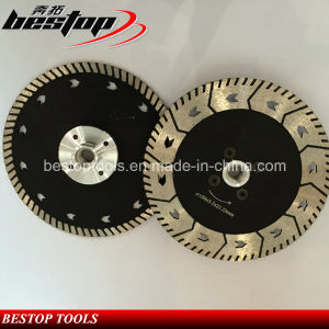 D180mm Double Side Diamond Grinding and Cutting Blade for Stone pictures & photos
