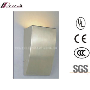 Modern Indoor Stainless Steel Hotel Bedside Wall Lamp pictures & photos