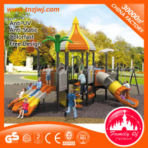 Children Plastic Slide Outdoor Playground Equipment T-P5040A From Factory pictures & photos