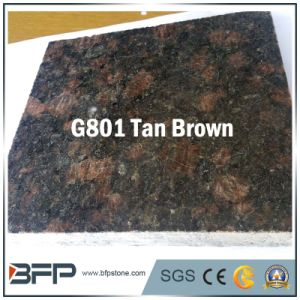 Granite Stone Tan Brown Floor Tile for Wall and Top pictures & photos
