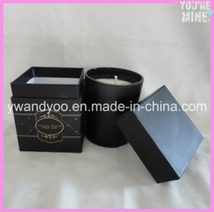 Unique Soy Luxury Black Jar Scented Candle in Gift Box