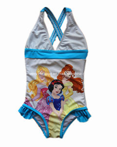 Cartoon Print Girl Swimwear pictures & photos