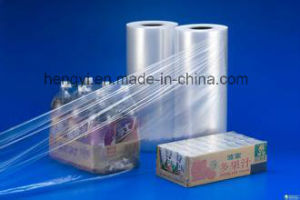 Clear Shrinking Film for Wrapping in PE Material pictures & photos
