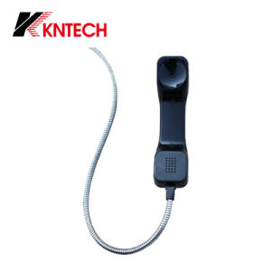 PC/ABS Industrial Telephone Handset Phone Receiver Squared Handset T1 pictures & photos