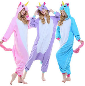 Unicorn Onesie Fannel Animal Pajamas Onesie Wholesale