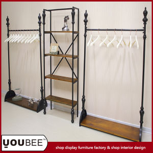 Heavy Duty Shop Display Stand/Shelf/Rack for Clothes From Guagnzhou Factory pictures & photos