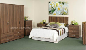 Cheap Price High Quality Modern Apartment Bedroom Furniture (HF-SJ009) pictures & photos