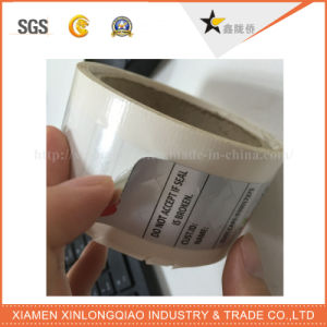 Pet Void Label Printing Adhesive Anti-Counterfeiting Anti-Fake Hologram Sticker pictures & photos