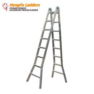 2*8 Folding Ladder Aluminium Ladder pictures & photos