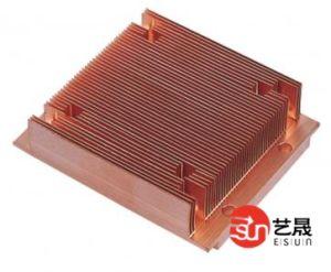 6063 T6 Aluminum Extrusion Radiator / Aluminum Extrusion Heat Sink / Aluminum Extrusion Profiles (EP120)