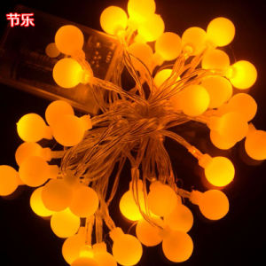 Outdoor LED Solar Ball String Light pictures & photos