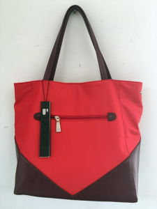 2016 New Nylon Tote Ladies Hand Bags /Red (1607-41)  pictures & photos
