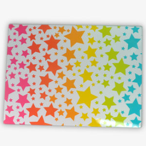 Hot Sale Chopping Boards with Stars 4c Printing Decal pictures & photos