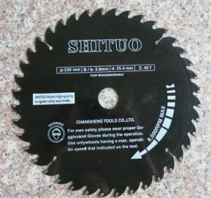 T. C. T Circular Saw Blade for Wood Cutting-Teflon pictures & photos