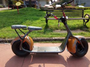 Big Tire Two Wheel Electric Motorcycle for Sale pictures & photos