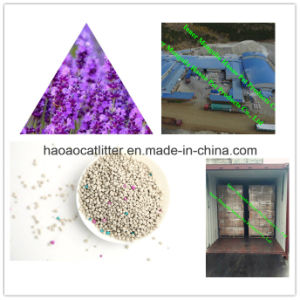 1-3.5mm Lavender Sterile Cat Litter to Keep Toliet Fresh pictures & photos
