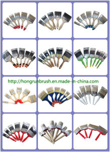Wooden Handle Bristle Paint Brush (HYW006) pictures & photos