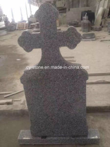 Chinese Granite G664 Tombstone/Grave Stone/Headstone in Romania Style with Customized Design pictures & photos