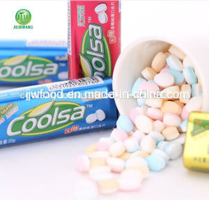 Coolsa 22g Tin Cool Mint Double Color Tablet Candy pictures & photos