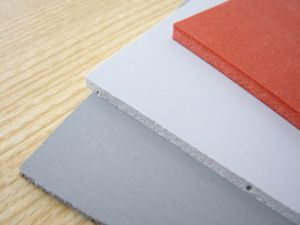 Silicone Sponge Rubber Sheet Special for Ironing Table with Red, Blue Color pictures & photos
