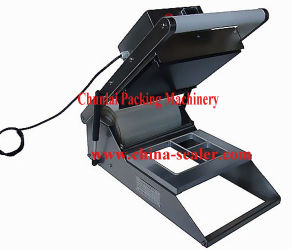 HS 300 Manual Plastic Tray Sealing Machine pictures & photos