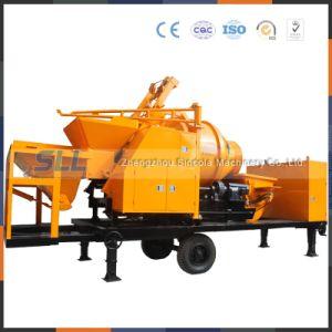 Mobile Concrete Mixer Pump for Mixing Convey Concrete pictures & photos