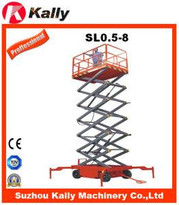 Mobile High Lifting Scissors Lift Platform, (SL0.5-8)
