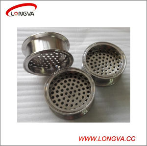 Sanitary Stainless Steel Pipe Fittings Tri Clamp Spool with Filter Plate pictures & photos