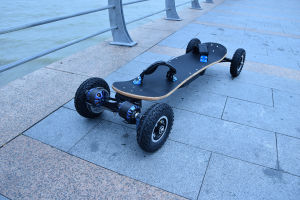 Remote Control 4 Wheels Self-Balancing off-Road Electric Skateboard pictures & photos