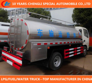 Dongfeng Milk Truck 8cbm Milk Tank Truck 120HP Milk Truck pictures & photos