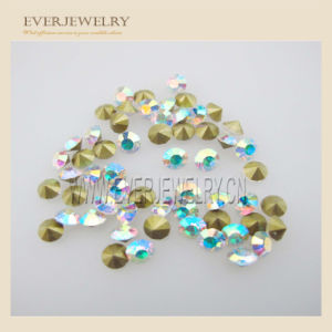 Point Back Rhinestone Crystal Ab Chinese AAA Glass Stones pictures & photos