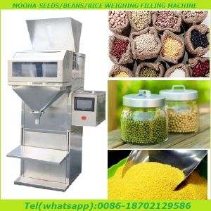 PLC Panel Animal Food, Beans Bag Weigher Filling Machine pictures & photos